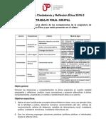 Estructura de Trabajo Final Grupal