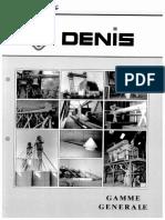 GEN - Denis - Plaquette Matériel Manutention