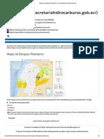 mapa petrolero