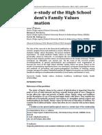 Valeeva Formarea Valorilor Familiale