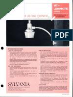 Sylvania MTH EEI-NEMA Series Spec Sheet 12-67