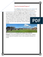 Cómo Fue Destruida Pompeya