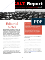 CALT Newsletter Vol 1, Issue 1 (June, 2017)