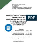 Estructura PEI