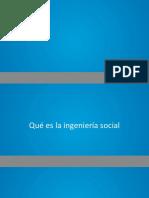01. Que Es La Ingenieria Social