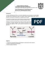 Reacciones enzimáticas de óxido-reducción