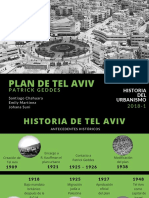 Plan de Tel Aviv.