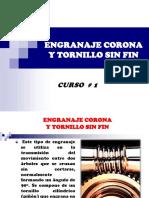 Engranaje Corona - Sin Fin I