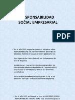Clase de Responsabilidad Social