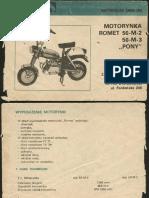 Motorynka Romet - Instrukcja Obsługi