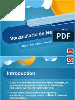 Business Vocabulary Session