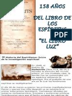 158 Años Del Libro de Los Espíritus