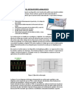El Osciloscopio - Analsis de Bloques