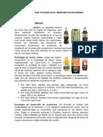 Estrategias de marketing-Coca-cola, Pepsi cola y Big cola