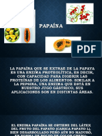 ENZIMA-PAPAINA-BIOQUIMICA