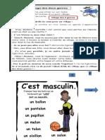 Feminin Et Masculin