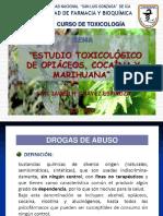 0H1106_Estudio Toxicologico de Opiaceos, Cocaina y Marihuana 2016-I