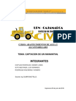 Informe de Abastecimientos