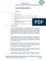 Plan de Sesion Educativa-higiene Bucal- Colegio Hosanna