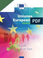 Uniunea Europeana-ce este si ce face