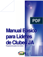 Manual Básico Para Lideres de Club JA.