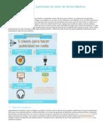 5 Claves Para Hacer Publicidad en Radio de Forma Efectiva