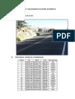 Diseño Geométrico Para Caminos i Mejorado