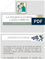 La Violencia Juvenil