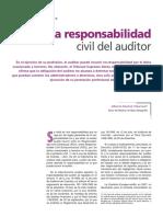 Responsabilidad civil auditor