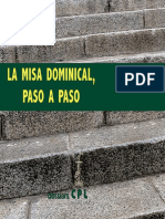 La Misa Dominical, Paso a Paso - Josep Lligadas Vendrell & Joaquim Gomis Sanahuja