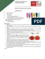 Cristalización. Actividades y Recetas