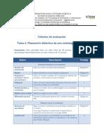 Tarea 2-Criterios de Evaluación
