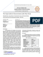 Ybco Superconductor Characterization Under Shear Strain