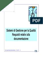 Req. 4 Documenti e Registrazioni