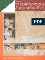 Preparación de Alimentos Para Niños y Mujeres en Edad Fértil