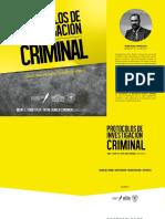 Protocolo escena del crimen
