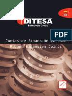 Catálogo Juntas de Expansión en Goma