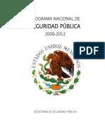 Programa Nacional de Seguridad Pública México