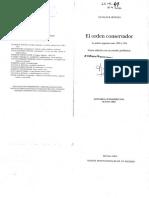 41 Botana El Orden Conservador - Segunda Parte - Rasgos Instiucionales de Un Regimen (65 Copias)