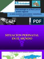 Situación de la perinatología - Region