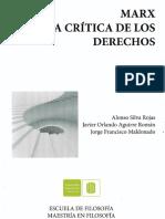 Intro&Cap.v. Marx y Crítica Derechos Esc FilUIS