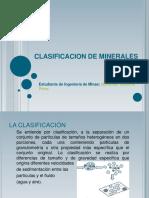 Clasificacion de Minerales