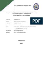 Aquino Ramos, Investigación Formativa III