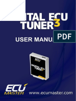 Digital ECU Tuner III Manual English