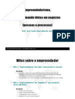 02 Empreendedorismo - PESSOAS E PROCESSO - José Dornelas