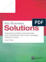 Key Business Solutions - Sample Chapter