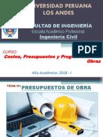 06. CPP - SEMANA 08 - Sesi n 02 - Presupuestos