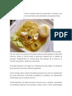 Comidas Tipicas de la Costa PERU