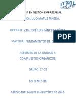 Resumen de Unidad 4- Fundamentos de Química