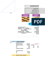 Metodología de costeo (Procesos y Órdenes de trabajo)